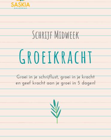 Schrijf Midweek Groeikracht