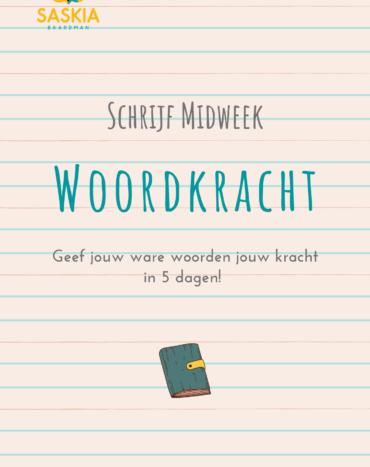 Schrijf Midweek Jouw Woordkracht