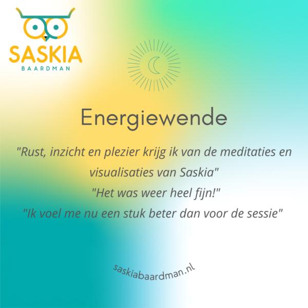 Energiewende geleide meditatie visualisatie klankontspanning Healing