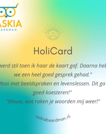 HoliCard inzichtkaart op maat